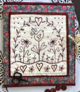 Mind Your Stitches Block Folder Workshop with Gail Pan at Poppy Patch